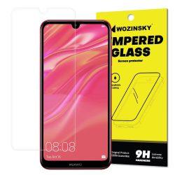Wozinsky edzett üveg 9H Képernyővédő fólia Huawei Y6 2019 / Y6 Pro 2019 (csomagolás - boríték) kijelzőfólia üvegfólia tempered glass