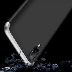 GKK 360 Protection telefon tok telefontok Első és hátsó az egész testet fedő Samsung Galaxy M10 fekete-ezüst