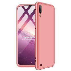 GKK 360 Protection telefon tok telefontok Első és hátsó az egész testet fedő Samsung Galaxy M10 rózsaszín