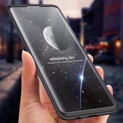 GKK 360 Protection telefon tok telefontok (hátlap) Első és hátsó az egész testet fedő Samsung Galaxy S10 Plus fekete