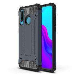 Hibrid Armor telefon tok hátlap tok Ütésálló Robusztus Cover Huawei P30 Lite blue