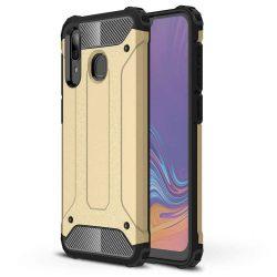 Hibrid Armor telefon tok telefontok Ütésálló Robusztus Cover Samsung Galaxy A30 arany