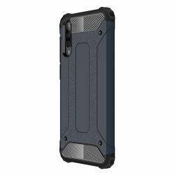 Hibrid Armor Case Kemény Robusztus Cover Samsung Galaxy A50 kék tok telefon tok hátlap