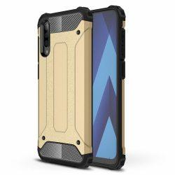Hibrid Armor Case Kemény Robusztus Cover Samsung Galaxy A50 arany telefon tok telefontok (hátlap)