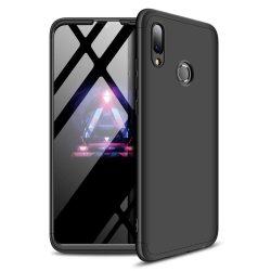 GKK 360 Protection telefon tok telefontok Első és hátsó az egész testet fedő Huawei Y7 2019 / Y7 Prime 2019 fekete
