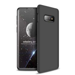 GKK 360 Protection telefon tok telefontok Első és hátsó az egész testet fedő Samsung Galaxy S10e fekete