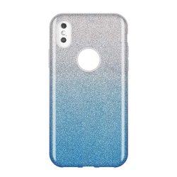 Wozinsky Glitter telefon tok hátlap tok Fényes Cover Samsung Galaxy A9 2018 A920 kék