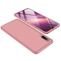 GKK 360 Protection telefon tok telefontok Első és hátsó az egész testet fedő Samsung Galaxy A50 rózsaszín