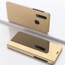 Clear View tok telefon tok hátlap Samsung Galaxy A50 arany