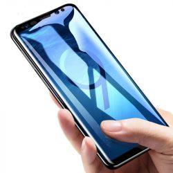 Wozinsky 6D Glass szuper tartós edzett üveg Teljes Glue telefon tok hátlap tok barát képernyő védő Huawei P30 Lite fekete kijelzőfólia üvegfólia tempered glass