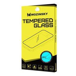 Wozinsky edzett üveg UV képernyővédő fólia 9H Huawei P30 Pro (ujjlenyomat-barát) - ragasztó nélkül és LED lámpa kijelzőfólia üvegfólia tempered glass