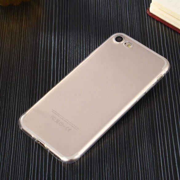 Átlátszó 0.5mm telefon tok telefontok Gel TPU Cover Samsung Galaxy A30 átlátszó
