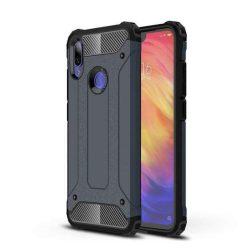 Hibrid Armor telefon tok hátlap tok Ütésálló Robusztus hátlap tok telefon tok Xiaomi redmi 7 kék