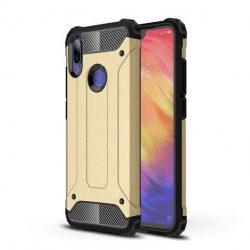 Hibrid Armor telefon tok hátlap tok Ütésálló Robusztus hátlap tok telefon tok Xiaomi redmi 7 arany