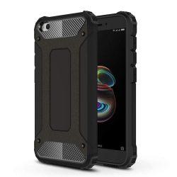 Hibrid Armor telefon tok hátlap tok Ütésálló Robusztus hátlap tok telefon tok Xiaomi redmi Go fekete