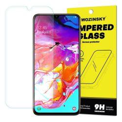 Wozinsky edzett üveg 9H képernyővédő fólia Samsung Galaxy A70 (csomagolás - boríték) kijelzőfólia üvegfólia tempered glass