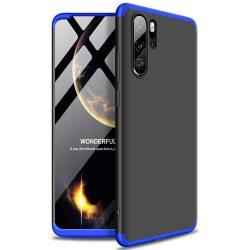 GKK 360 Protection Case Első és hátsó tok az egész testet fedő Huawei P30 Pro fekete - kék tok telefon tok hátlap