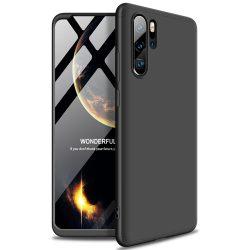 GKK 360 Protection Case Első és hátsó tok az egész testet fedő Huawei P30 Pro fekete tok telefon tok hátlap