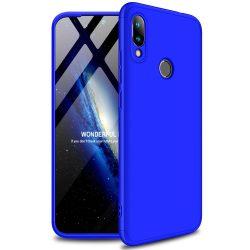 GKK 360 Protection Case Első és hátsó tok az egész testet fedő Xiaomi redmi 7 kék tok telefon tok hátlap