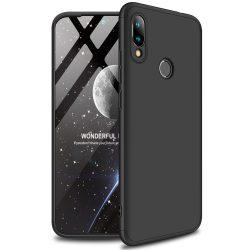 GKK 360 Protection Case Első és hátsó tok az egész testet fedő Xiaomi redmi 7 fekete telefon tok telefontok (hátlap)