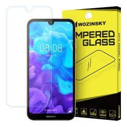 Wozinsky edzett üveg 9H képernyővédő fólia Huawei Y5 2019 / Honor 8S kijelzőfólia üvegfólia tempered glass