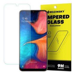 Wozinsky edzett üveg tempered glass tempered glass tempered glass 9H képernyővédő fólia Samsung Galaxy A20e (csomagolás - boríték)
