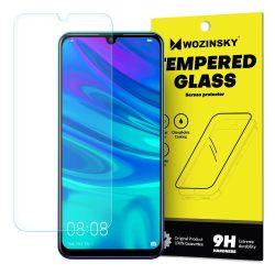 Wozinsky edzett üveg 9H Képernyővédő fólia Huawei P Smart 2019 (csomagolás - boríték) kijelzőfólia üvegfólia tempered glass