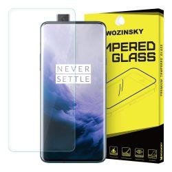 Wozinsky edzett üveg 9H képernyővédő fólia OnePlus 7 kijelzőfólia üvegfólia tempered glass