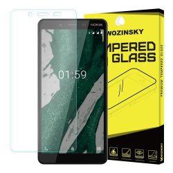 Wozinsky edzett üveg 9H képernyővédő fólia Nokia 1 Plus kijelzőfólia üvegfólia tempered glass