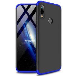GKK 360 Protection Case Első és hátsó tok az egész testet fedő Huawei Y6 2019 fekete - kék telefon tok telefontok