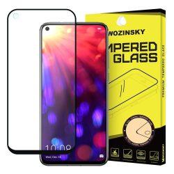 Wozinsky edzett üveg Teljes Glue Super Tough képernyővédő fólia Teljes Coveraged kerettel Case barát Huawei Honor 20 Pro / Honor 20 fekete kijelzőfólia üvegfólia tempered glass
