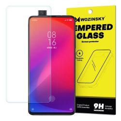 Wozinsky edzett üveg 9H Képernyővédő fólia Xiaomi Mi 9T Pro / Mi 9T (csomagolás - boríték) kijelzőfólia üvegfólia tempered glass