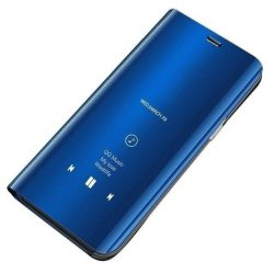 Clear View tok Samsung Galaxy A10 / Galaxy M10 kék tok telefon tok hátlap