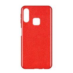 Wozinsky Glitter Case Shining Cover Samsung Galaxy A40 piros tok telefon tok hátlap