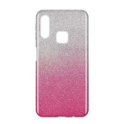 Wozinsky Glitter Case Fényes Cover Samsung Galaxy A40 rózsaszín telefon tok telefontok