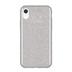 Wozinsky Glitter Case Fényes Cover Huawei S5 2019 / Honor 8S ezüst tok telefon tok hátlap