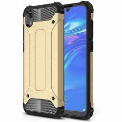 Hibrid Armor Case Kemény Robusztus Cover Huawei S5 2019 / Honor 8S arany tok telefon tok hátlap
