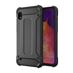 Hibrid Armor Case Kemény Robusztus Cover Samsung Galaxy A10 fekete tok telefon tok hátlap