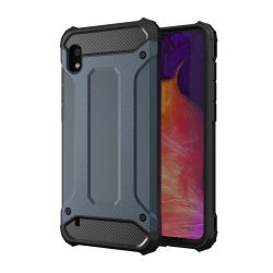 Hibrid Armor Case Kemény Robusztus Cover Samsung Galaxy A10 kék tok telefon tok hátlap