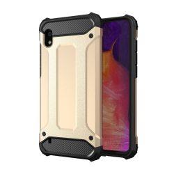 Hibrid Armor Case Kemény Robusztus Cover Samsung Galaxy A10 arany tok telefon tok hátlap