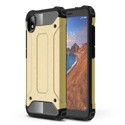 Hibrid Armor Case Kemény Robusztus Fedél Xiaomi redmi 7A arany tok telefon tok hátlap