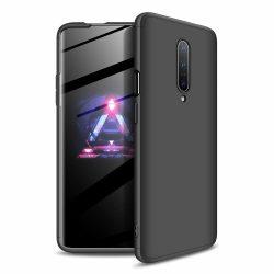 GKK 360 Protection Case Első és hátsó tok az egész testet fedő OnePlus 7 Pro fekete tok telefon tok hátlap