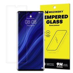 Wozinsky edzett üveg 9H Képernyővédő fólia Huawei P30 Pro (csomagolás - boríték) kijelzőfólia üvegfólia tempered glass