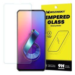 Wozinsky edzett üveg 9H képernyővédő fólia Asus Zenfone 6 ZS630KL (csomagolás - boríték) kijelzőfólia üvegfólia tempered glass