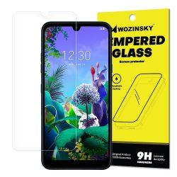 Wozinsky edzett üveg 9H képernyővédő fólia LG Q60 (csomagolás - boríték) kijelzőfólia üvegfólia tempered glass