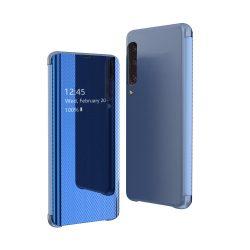 Flip View Cover Samsung Galaxy A70 kék telefon tok telefontok (hátlap)