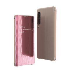 Flip View Cover Samsung Galaxy A70 rózsaszín telefon tok telefontok (hátlap)