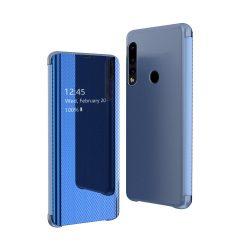 Flip View Cover Huawei P30 Lite blue tok telefon tok hátlap
