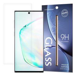 Edzett üveg 9H képernyővédő fólia Samsung Note 10 Plus (csomagolás - boríték) kijelzőfólia üvegfólia tempered glass
