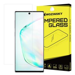 Wozinsky 3D képernyővédő fólia Film Teljes Coveraged Samsung Galaxy Note 10 kijelzőfólia